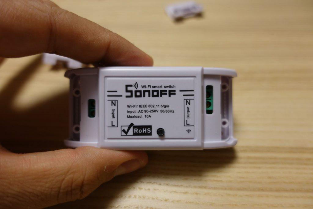 Sonoff Basic: Interruptor WiFi muy económico - Domótica en Casa