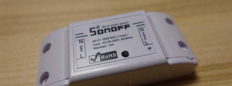 Sonoff Basic: Review de un interruptor WiFi muy económico