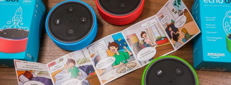 Amazon pondrá a la venta el día 9 de Mayo un dispositivo Alexa para niños