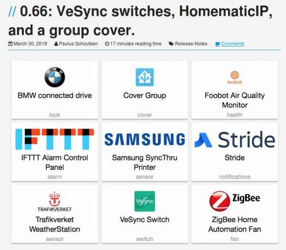 Home Assistant se actualiza a la nueva versión 0.66