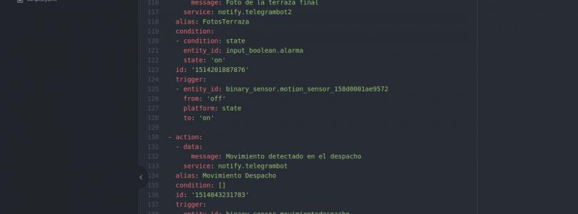 Home Assistant #12: Limpieza del código y preparando para las copias de seguridad
