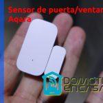 Aqara Review del sensor de puerta o ventana Aqara