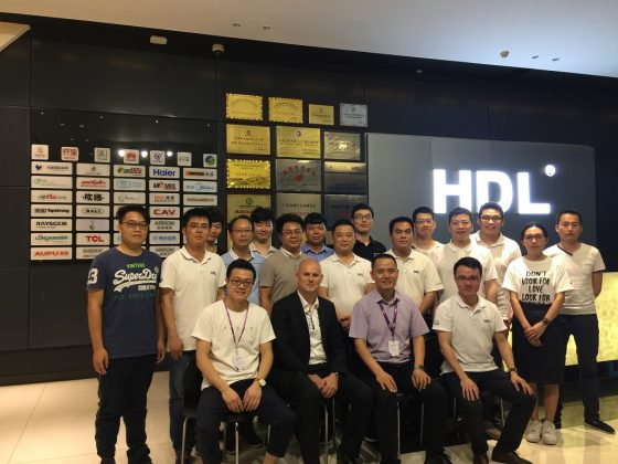 KNX ofrece una conferencia para el personal de HDL en Guangzhou