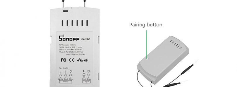 Sonoff lanza el Sonoff IFan02 para convertir tu ventilador de techo en inteligente