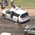 Una minivan autónoma de Google se ve involucrada en un accidente