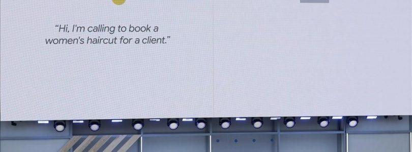 Presentación de Google Duplex