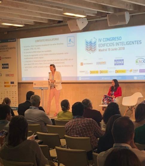KNX asiste a la cuarta edición del congreso de Edificios Inteligentes
