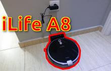 Review del Robot Aspirador iLife A8