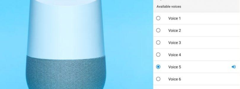 Como cambiar la voz de Google Home (de momento, en Estados Unidos)