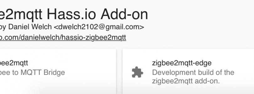 Tutorial: Instalar Zigbee2mqtt en Hassio para usar los dispositivos Xiaomi sin gateway