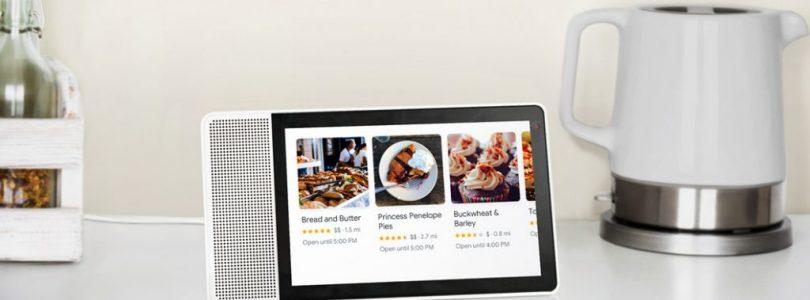 Lenovo pone a la venta su Smart Display con Google Assistant