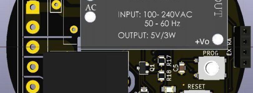 Nueva placa con ESP8266: ESPAIO