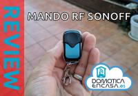 Review del mando a distancia de Radio Frecuencia de Sonoff