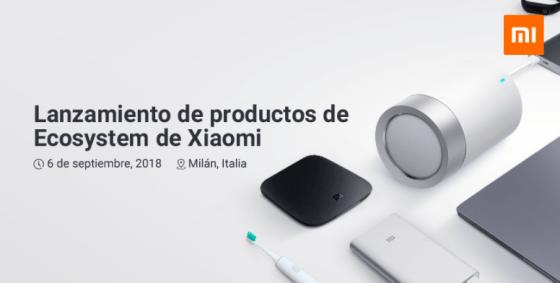 Estos podrían ser los dispositivos del ecosistema Xiaomi que se presentarán mañana