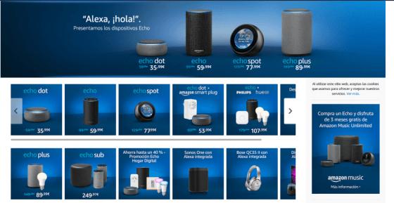 ¡Amazon Alexa llega a España!