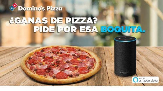 Domino's Pizza anuncia que trabajará en España junto a Alexa, te explicamos como pedir pizza