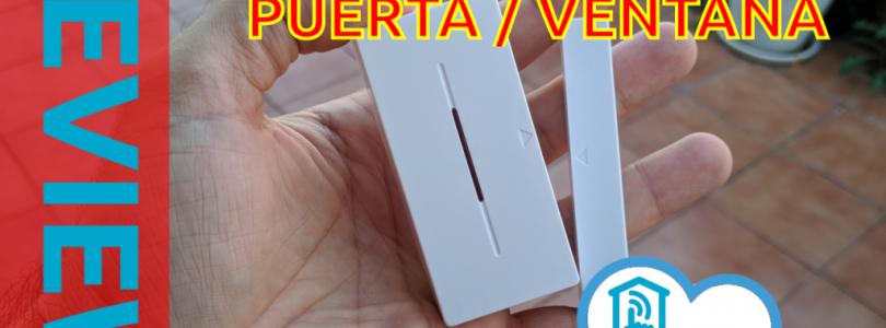 Review del sensor Sonoff de puerta o ventana por radio frecuencia