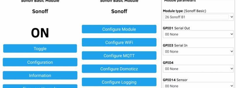 Tasmota actualiza a la versión 6.4.0