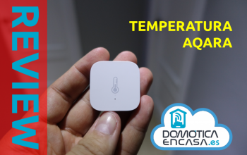 Review del sensor de temperatura de Aqara
