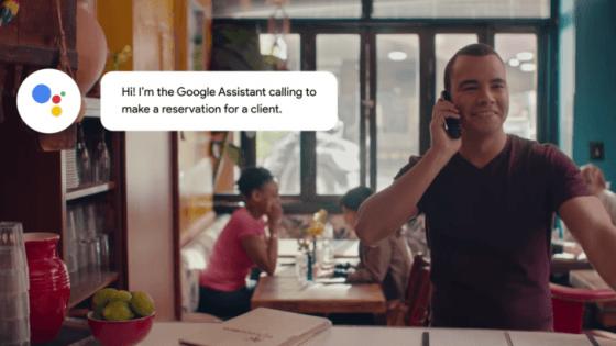 Nuevo vídeo muestra una reserva real en un restaurante de Google Duplex