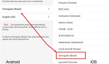 Google Assistant disponible en portugués brasileño