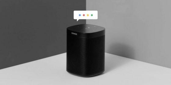 Sonos retrasa el soporte para Google Assistant hasta 2019