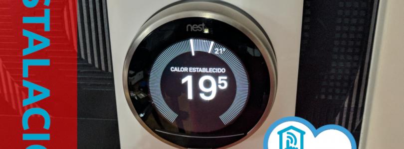 Tutorial: Instalación del termostato Nest