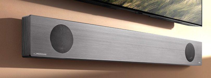 LG presenta una barra de sonido con Google Assistant que expondrá en el CES 2019