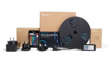 Sonoff L1, la tira LED RGB de Sonoff que estará en el mercado el mes que viene