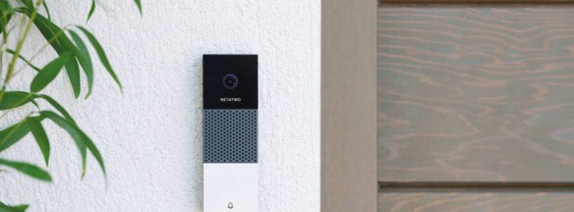 Netatmo lanza el primer timbre de casa con vídeo compatible con Homekit