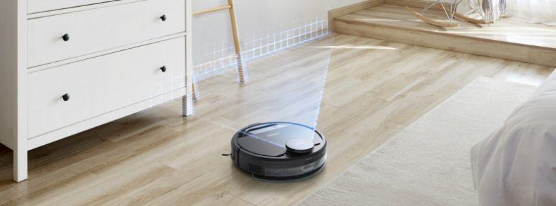 Ecovacs, el robot inteligente que detecta cables, calcetines, etc y decide que hacer