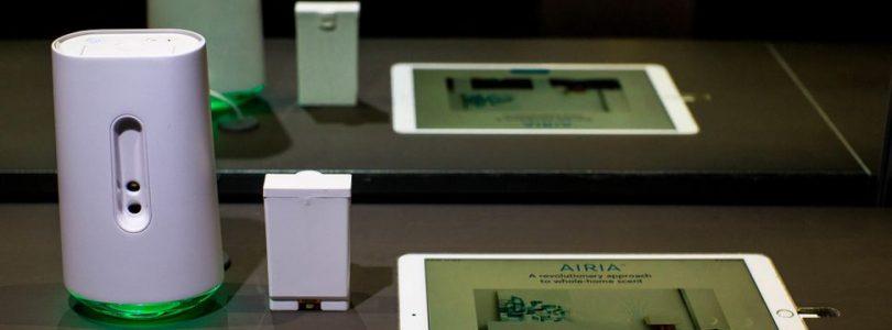 Presentan un ambientador con tecnología de impresora de tinta llamado Airia