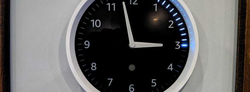 Amazon para la venta de su Echo Wall Clock por problemas de conectividad