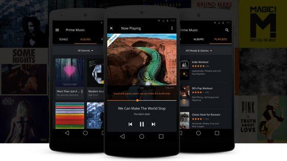 Amazon actualiza su App de Prime Music para ofrecer Alexa sin necesidad de pulsar en el botón