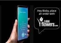 1-800 flowers añade soporte para Bixby en Estados Unidos