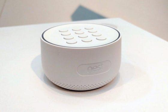 Nest Guard tenía micrófono integrado que no estaba anunciado
