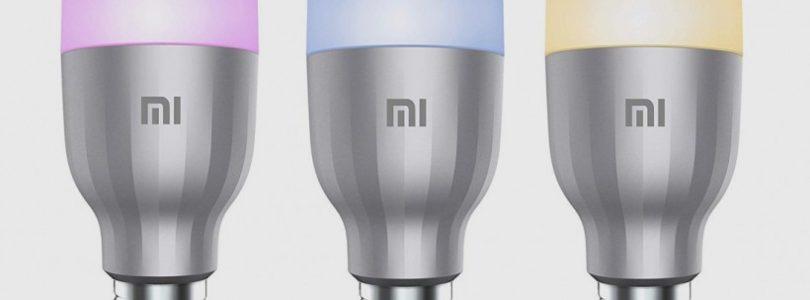 Las bombillas de Xiaomi lucen en el MWC 2019