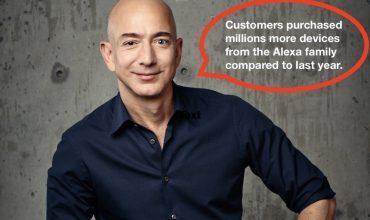 Amazon muestra nuevos número de Alexa