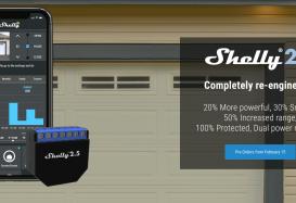 Shelly actualiza sus dispositivos a la versión 1.5 del firmware