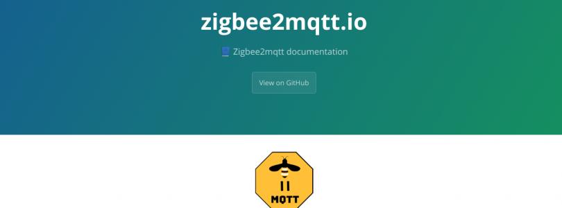 Zigbee2mqtt mueve toda la documentación a su nueva web