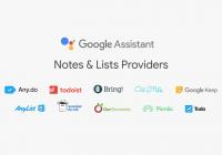 La aplicación 9.36 de Google traerá Google Assistant en nuevos dispositivos e integración con notas y listas