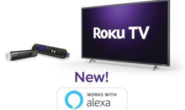 Roku TV anuncia soporte para Alexa por medio de un Skill