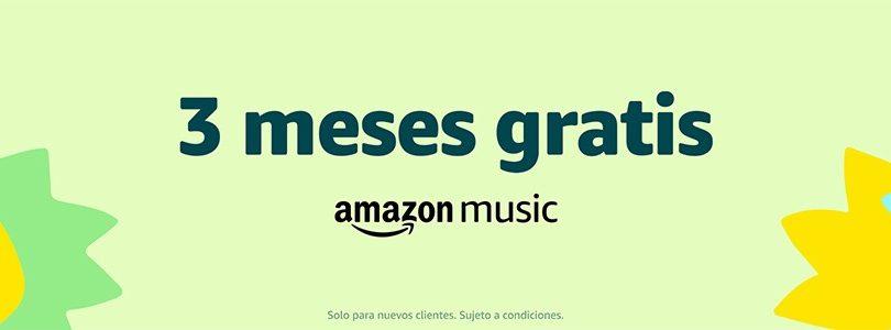 Consigue 3 meses gratis de Amazon Music gratis