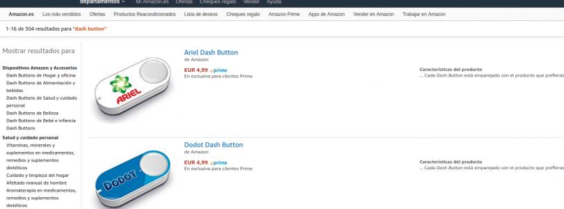 Amazon retira de la venta los Dash Button de forma inesperada