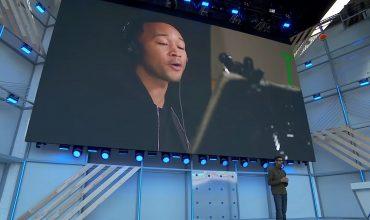 la voz de john legend en Google Assistant