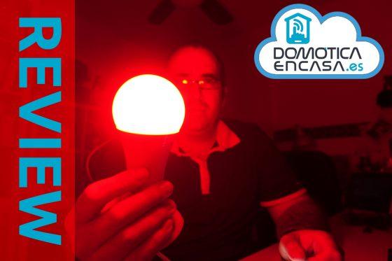 Bombilla Gledopto 12W RGB Zigbee: Review y opinión
