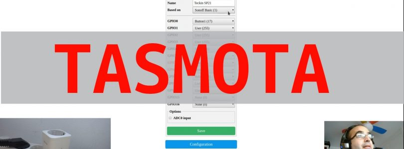 Vídeo tutorial: Cómo añadir nuevos dispositivos en Tasmota