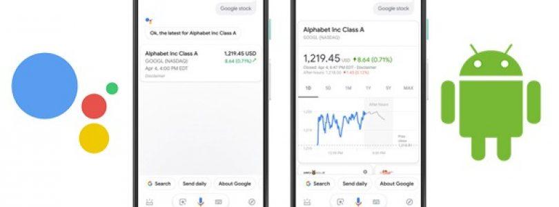 Google Assistant ofrecerá respuestas más visuales en los dispositivos Android