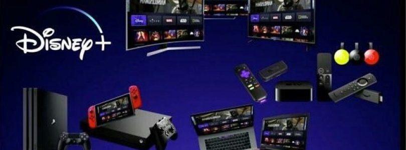 El servicio de streaming Disney+ empezará en Estados Unidos el 12 Noviembre con soporte para Chromecast