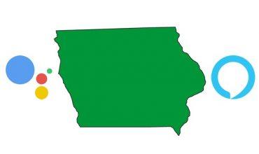 Iowa ofrecerá la información estatal por medio de Alexa y Google Assistant
